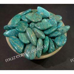 Amazonit - oszlifowany minerał OT24 Zdrowie i Uroda