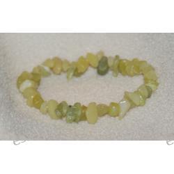Bransoletka z jadeitu BBS01 Biżuteria i Zegarki