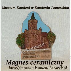Pamiątkowy magnes na lodówkę - Baszta w Kamieniu Pomorskim Dom i Ogród