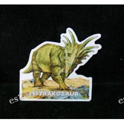 Styrakozaur - magnes Kolczyki