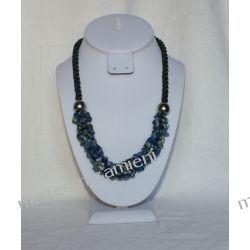 Naszyjnik z lapis lazuli NS003 Biżuteria i Zegarki