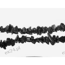 Naszyjnik z onyksu NS024 Biżuteria i Zegarki