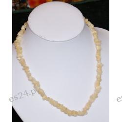 Naszyjnik z chalcedonu NS037 Biżuteria i Zegarki