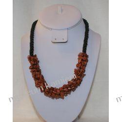 Naszyjnik z piasku pustyni NS012 Biżuteria i Zegarki