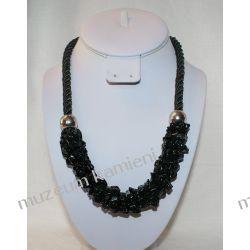 Naszyjnik z onyksu NS010 Biżuteria i Zegarki