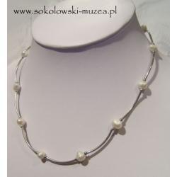 Naszyjnik z perełkami NS011 Biżuteria i Zegarki