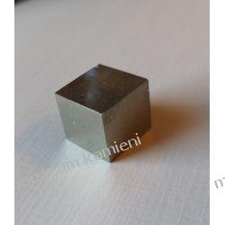 Piryt MIN43 kostka - naturalna krystalizacja! Kolczyki