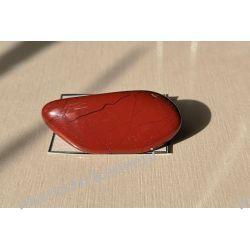 Broszka - jaspis czerwony  Naszyjniki