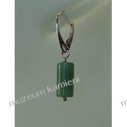 Awenturyn - piękne kolczyki w srebrze KW100 Biżuteria i Zegarki