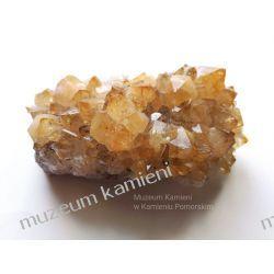 Cytryn szczotka krystaliczna  minerały