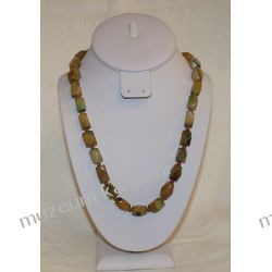 Naszyjnik z agatu w srebrze N029 Biżuteria i Zegarki