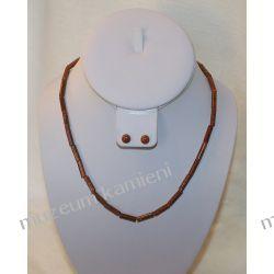 Naszyjnik z Piasku Pustyni w srebrze N020 Biżuteria i Zegarki
