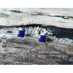 Kolczyki z Lapis lazuli w srebrze KWK010 Biżuteria i Zegarki