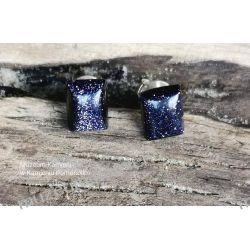"""Piękne kolczyki z Nocy Kairu w srebrze typ """"wkrętki"""" KWK080 Biżuteria i Zegarki"""