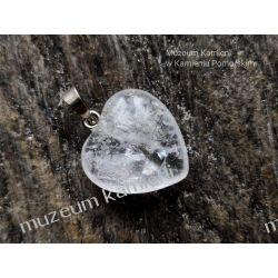 Serduszko - piękny wisior z kryształu górskiego W023 Biżuteria i Zegarki