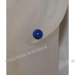 Kolczyki z lapis lazuli w srebrze KWK017 Biżuteria i Zegarki