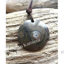 Wyjątkowy wisior z amonitu W045 Biżuteria i Zegarki