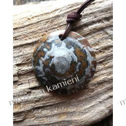 Nietuzinkowy wisior z amonitu W047 Biżuteria i Zegarki