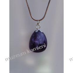 Wisior z ametystu w srebrze WA048 Biżuteria dla Pań