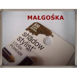 PUDROWY CIEŃ MAYBELLINE SHADOW STYLIST 610  BROWN