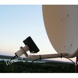 Antena Paraboliczna SM-65, 24dBi/2,4GHz.+1m.H-155+SMA-RPż.