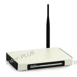Router TP-Link ADSL (Annex A) TD-W8910G zintegrowany z 4 portowym switchem oraz Access Pointem w technologii eXtended Range