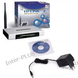 Punkt dostępowy TP-Link w technologii eXtended Range TL-WR543G z routerem oraz 4 portowym switchem. Posiada funkcję WISP