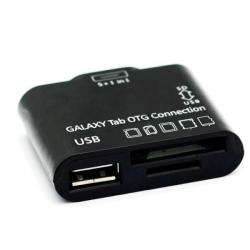 ADAPTER 5w1 Samsung Galaxy Tab 10.1 8.9 USB SD