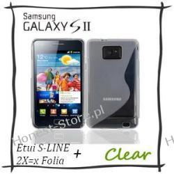 Samsung Galaxy S2 i9100 Pokrowiec S-Line Folia 2x