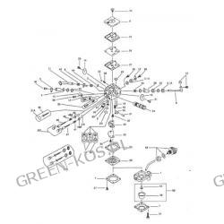 Gaźnik Efco Tt162;Oleo-Mac962TTA przecinarki