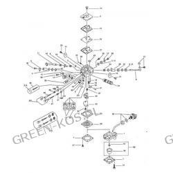Gaźnik WALBRO HDA-205 OleoMac 947, 952 | Efco 147, 152