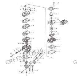 Gaźnik OleoMac/Efco746;753;755/wykaszarki