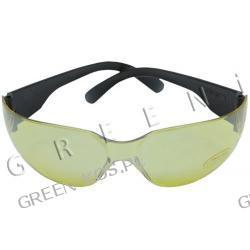 Okulary ochronne, żółte ochrona przed UV