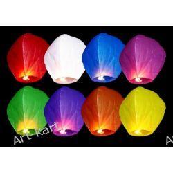 Lampiony szczęścia latające latarnie / 10szt mix kolorów