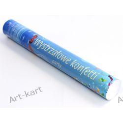 Tuba strzelająca kolorowym konfetti / 40cm