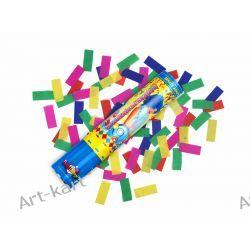 Tuba strzelająca kolorowym konfetti / 20cm