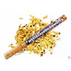 Tuba strzelająca złotym konfetti / 60cm