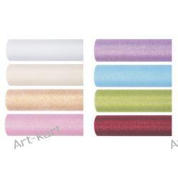 Tiul z brokatem glittery, szpulka 15cm x 9m TIUG15 / r. kolory