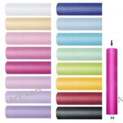 Tiul gładki, szpulka 30cm x 9m TIU30 / r. kolory na pompony, spodniczki tutu, kokardy