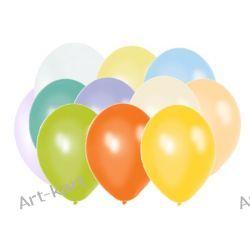 """Balony 12"""" BELBAL perłowe MIX kolorów / 100szt Zaproszenia, zawiadomienia"""