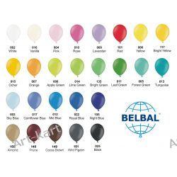 """Balony 5"""" BELBAL pastelowe / 100szt jednokolorowych"""