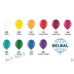 """Balony 14"""" BELBAL crystal / 100szt jednokolorowych"""