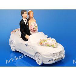Para Młoda w samochodzie, figurka na tort 11cm PF25