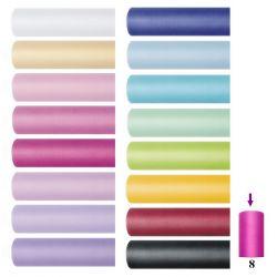 Tiul gładki, szpulka 8cm x 20m TIU8 / r. kolory na pompony, spodniczki tutu, kokardy