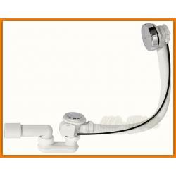 syfon wannowy A51CR ALCAPLAST chromowany automatyczny z częścią syfonową