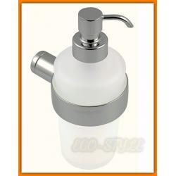 dozownik do mydła w płynie z metalową pompką NOVATORRE 2 FERRO 6255.0 - tania wysyłka