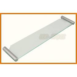 półka szklana łazienkowa NOVATORRE 2 FERRO 6240.0 - tania wysyłka...