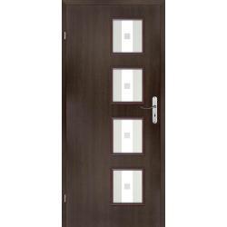 Drzwi płytowe okleinowane INES różne kolory