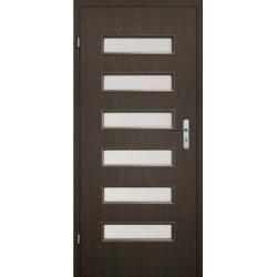 Drzwi płytowe okleinowane KING różne kolory