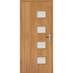 Drzwi płytowe okleinowane TOPDOOR różne kolory